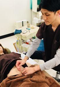 お腹の鍼治療