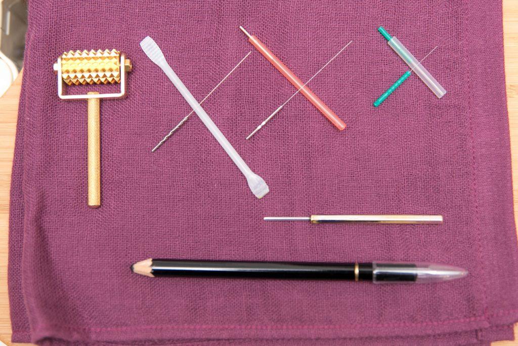 当院で使う鍼の種類