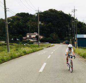 息子ロードバイク デビュー