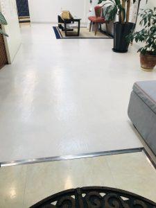 治療院の床