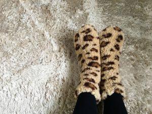 足元の冬支度